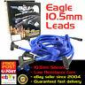 EAGLE 10.5mm Ignition Spark Plug Leads BB Chev 454 145° Plug HEI Around V/Cover