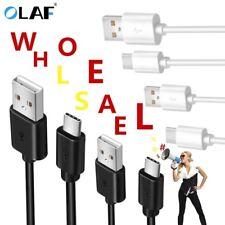 Wholesale 1m Micro Type C Mobile Phone Fast Charging Charger Cable Data Line Lot