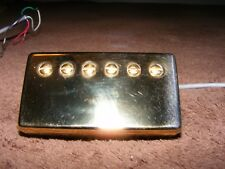 Gibson '57 classic pickup PAF humbucker gold 4 conductor.