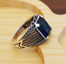 Handmade Ring Sterling cubic zircon