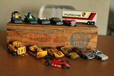 Lot of 15 Vintage Matchbox Cars Superfast Lesney Porsche Trailer Hot Rod Jeep