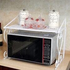Multifunktion Mikrowelle Halterung Halter Rack Microwellen Küchen Weiß DHL