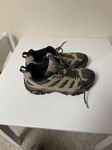 Merrell MOAB Ventilator Hiking Shoes J06011 Walnut Vibram Men's Size 11 EU 45