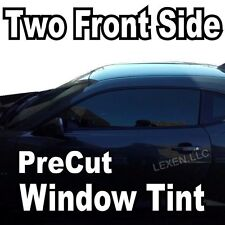 TWO FRONT PRECUT WINDOW TINT KIT COMPUTER CUT TINTING GLASS FILM CAR ANY SHADE e