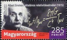 Hungría 2015 A. Einstein/científicos/espacio/ciencia/matemática/personas 1v (n45156)