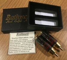 More details for rothwell attenuators -20 db source type, connects to output of cd/dac  etc.