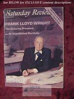 RARE Saturday Review October 4 1975 FRANK LLOYD WRIGHT