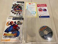 Nintendo gamecube Mario Kart double dash with box manual NGC very good Japan imp