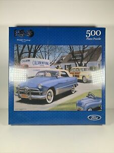 Fx Schmid Moving Day Jigsaw Puzzle - Ford Licensed 100 Years - 500 Pcs  18x24