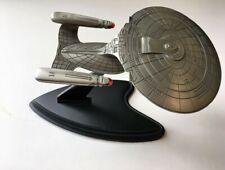 Star Trek U.S.S. Enterprise 1701-D Pewter Ship by The Franklin Mint