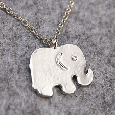 New Charm Elegant Lady Fashion Elephants Pendant Sweater Chain Lucky Necklace