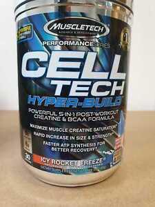 MuscleTech Cell-Tech Hyper-Build (5:1 Post-Workout BCAA + Creatine Formula)