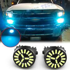 LED 3156 3157 DRL Daytime Running Parking Light Bulb Cool Light Ice Blue 8000K