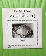 """The Art Of Noise - Close (To The Edit) ZTPS 01 7"""" Single *3 For 1 On Postage*"""