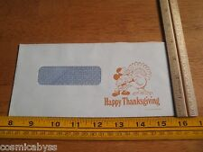 1977 Disneyland employees check mailing envelope Happy Thanksgiving Mickey Mouse