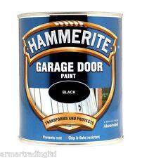 Hammerite Garage Door Paint 750ml Black Blue Chestnut Green Red White Enamel