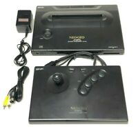 SNK NEO GEO AES Console System Very Good Condition Tested Work Fully from Japan