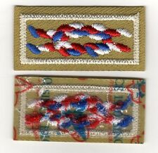 Eagle Scout Award Knot, On Tan Weave, Since 1910 Backing, Mint!