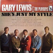 "GARY LEWIS & THE PLAYBOYS ""SHE'S JUST MY STYLE"" VG+ Liberty ‎– LST 7435 1966"