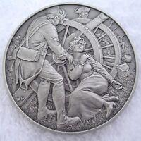 DAR Medal - MARGARET COCHRAN CORBIN, Revolutionary War. Great Women.