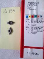 10 NEW SANDVIK DCMT 21.50-KF CARBIDE INSERTS. DCMT 07 02 02-KF GRADE H13A {Q154}