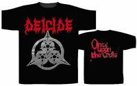 Deicide Once Upon the Cross T-Shirt Black Small Heavy Metal Rock New