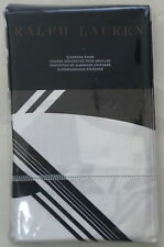 NIP RALPH LAUREN ELLINGTON ART DECO BLACK/WHITE 1 EUROPEAN PILLOW SHAMS $145