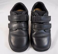 Clarks Toddler Boys Shoes Size 10 W Leather RipTape Casual Shoes Black