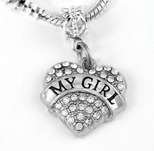 Charm only My Girl present My Girl Jewelry My Girl Jewelry My Girl Gift My Girl