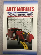 Automobiles - Word Search Puzzle Book