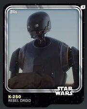 TOPPS Digital Star Wars Card Trader: Anniversary White K-2SO Base Variant (1 car