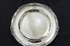 Superbe Plat Argent massif Minerve / Solid Silver Dish Style Empire 30cm