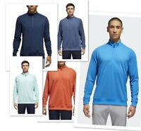 New Adidas Classic Club 1/2 Zip Golf Pullover Pick Size | Color MSRP $75