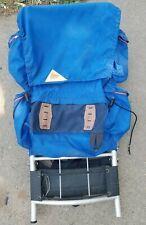 Vintage KELTY External Frame BACKPACK Blue Retro sz Large