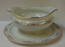 Syracuse ORLEANS Gravy Boat LIGHT GREY TRIM