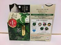 JAPAN NEW COW FACE CLEANSING SOAP(80g)UJI GREEN TEA WITH FOAM NET SKIN BEAUTY