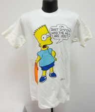 THE SIMPSONS LARGE SHIRT PRINTED ADULT VINTAGE RETRO VTG BART MATT GROENING FOX