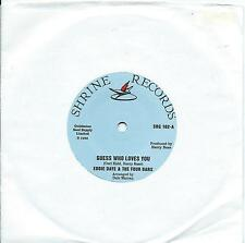 Eddie Daye:Guess who loves you/What am I gonna do:Northern Soul Re-Issue