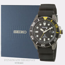 Authentic Seiko Prospex Solar Diver's 200M Rubber Watch SNE441