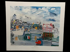 """""""DEAUVILLE 1938"""" by Raoul Dufy"""