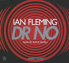 IAN FLEMING Dr. No READ BY RUFUS SEWELL (CD-Audio, 2002)  NEW - STILL SEALED