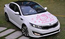 Neu Hello Kitty Auto Tattoo Aufkleber Sticker 55 x 46cm 19 Farben A032