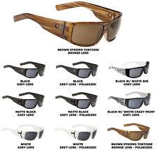 SPY Hailwood Sunglasses Black Frame Grey Polarized Lens Brand NEW!