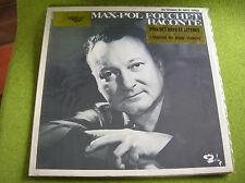LP MAX POL FOUCHET raconte - BARCLAY 88005