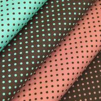 FQ 3mm Classic Polka Dot Circle Spot Vintage Retro Print 100% Cotton Fabric VA36