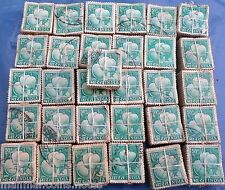 1,000 Pcs LOT ( 10 Bundles) - 50 Paise - MANGOES -  Definitive Stamp