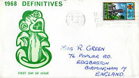 NEW ZEALAND 17 JULY 1969 DEFINITIVE OTAGO UNIVERSITY FIRST DAY COVER SHS