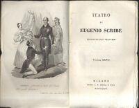 TEATRO COMPLETO  Eugenio Scribe  vol.XXVII 1836 impostore senza impostura e al