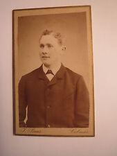 COLMAR-giovane uomo in giacca-Portrait/CDV