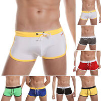 Swim Shorts Swimwear Swimming Trunks Charm Underwear Boxer Briefs Pants Mens